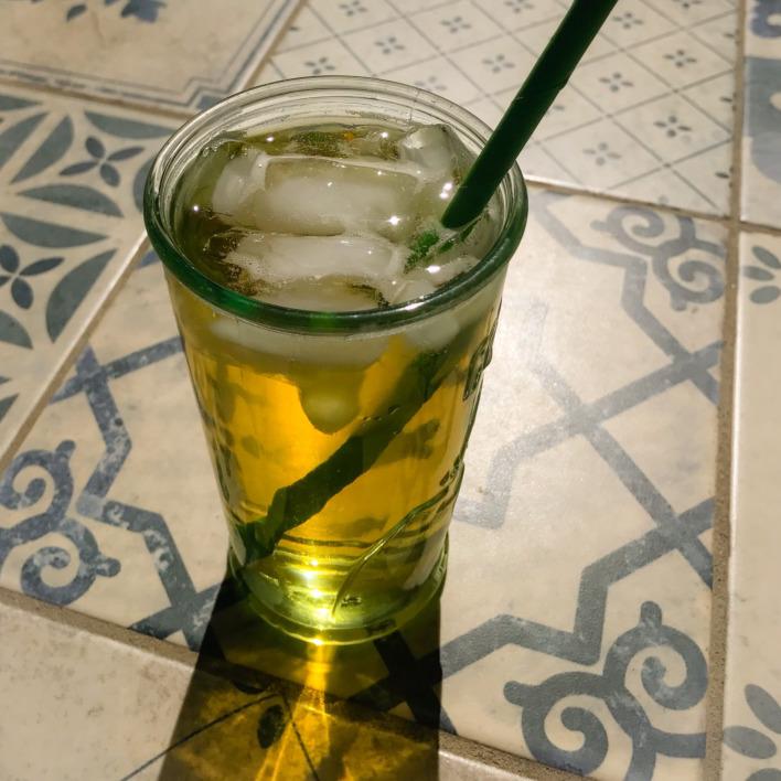 Cold Brew Green Mint Tea
