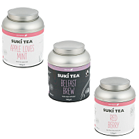 New Loose Leaf Tea Caddies
