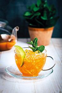 Gunpowder Green Spearmint Cold Brew: Recipe
