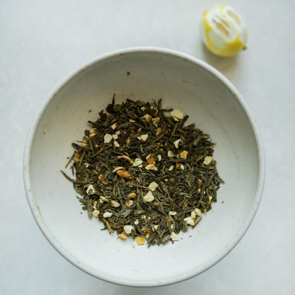 Day 12: Green Tea Lemon
