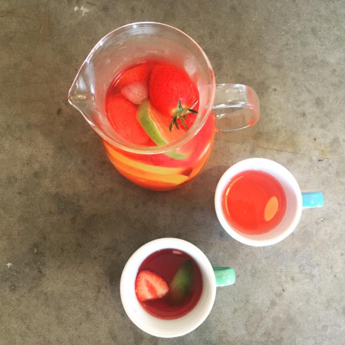 Recipe 7: Chamomile, Orange & Strawberry Iced Tea