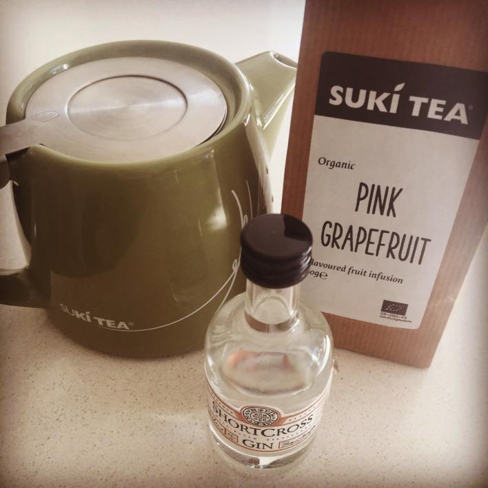 Recipe 4: Pink Grapefruit Alcoholic Iced Tea