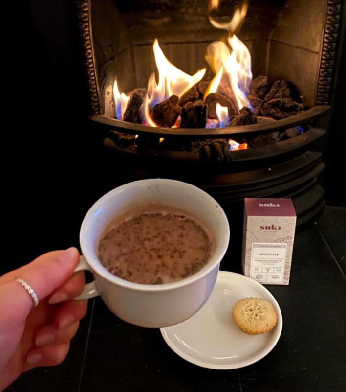 Mince Pie Hot Chocolate