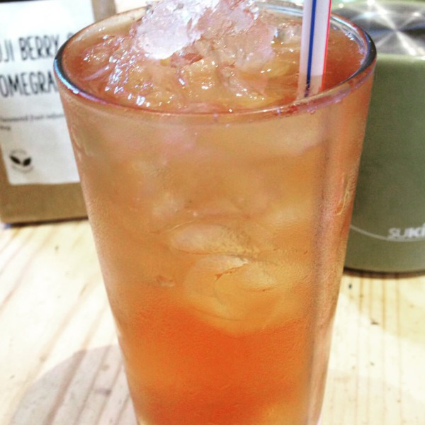 Recipe 14: Goji Berry Iced Tea