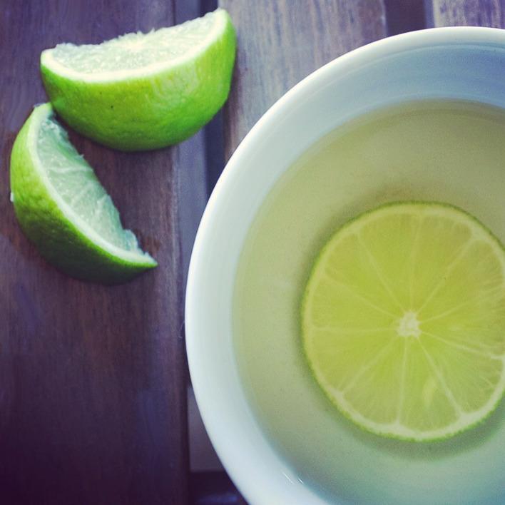 Tangy Lime Tea