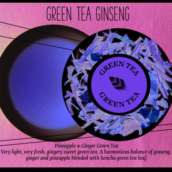 Green Tea Ginseng, Tea of the Month