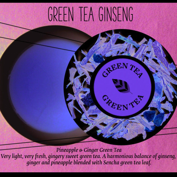 Green Tea Ginseng, Tea of the Month