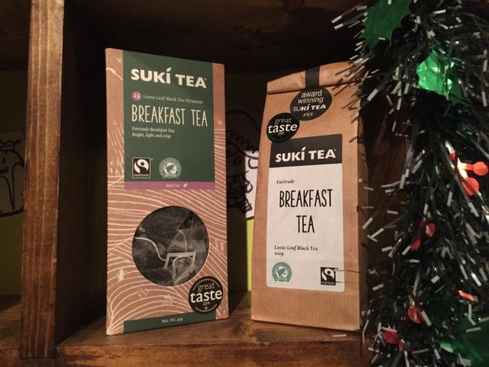 Suki Teacember: Day 15 - Breakfast Tea