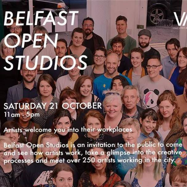Belfast Artists Open Up Their Studios