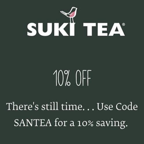 SanTEA 10% off