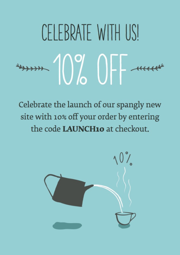 All New Website *10% off!