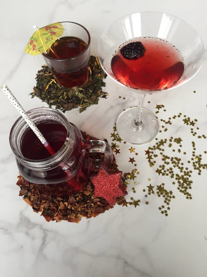 Tea Cocktails for NYE