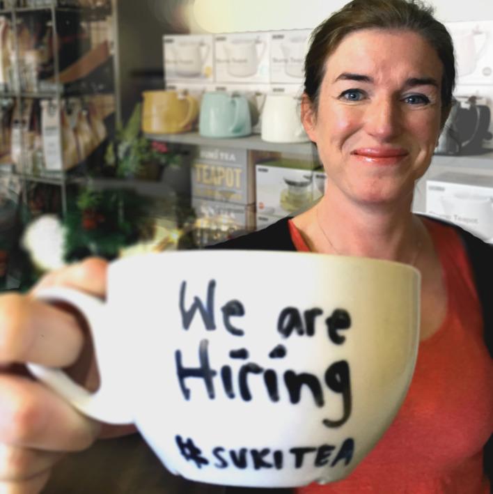 We are hiring at Suki Tea HQ!