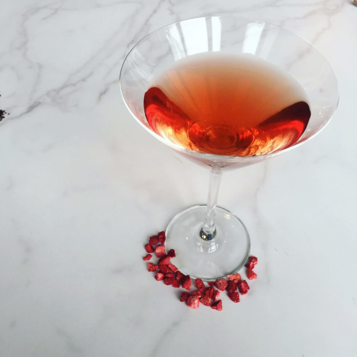 Galentine's Tea Cocktail