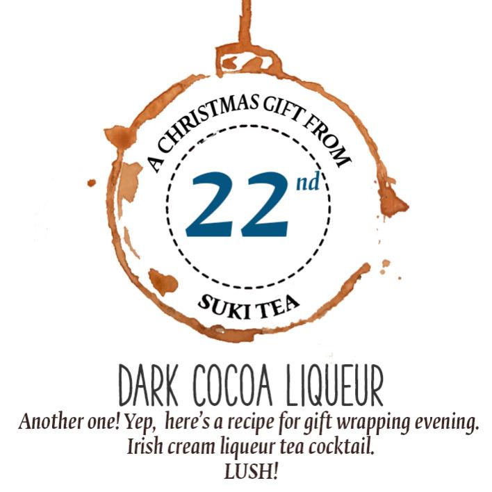 Dark Cocoa Tea Liquor