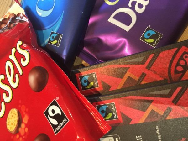 Malteaser Buns for Fairtrade Fortnight