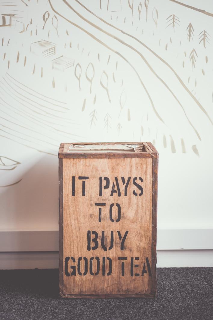 It pays to buy good tea!