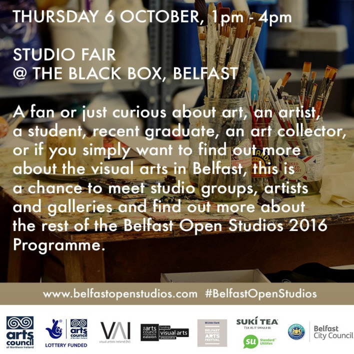 Visual Artists Ireland: Belfast Open Studios