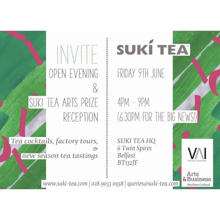 Suki Tea Art Prize