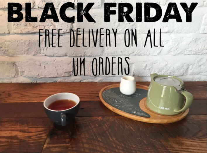 Black Friday: Free UK Delivery