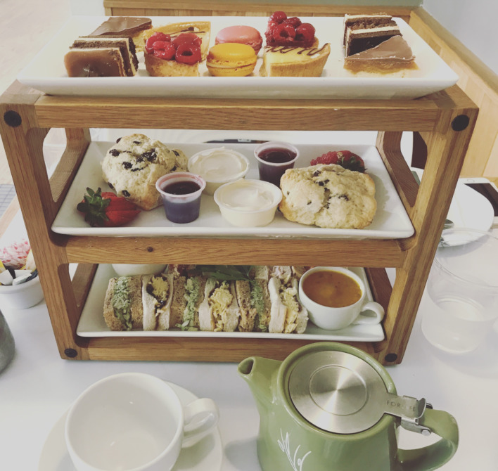 Afternoon Tea at The Coffee Yard