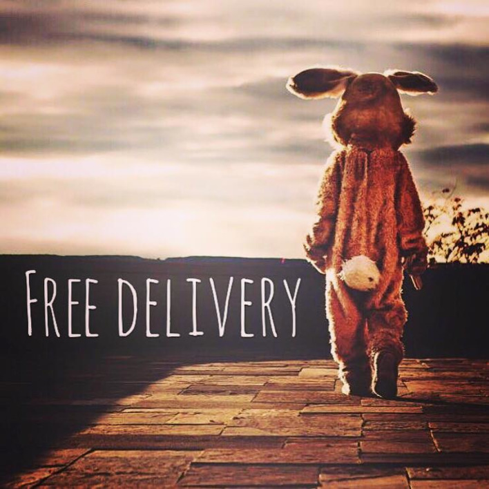 Easter Treats = Free UK Delivery