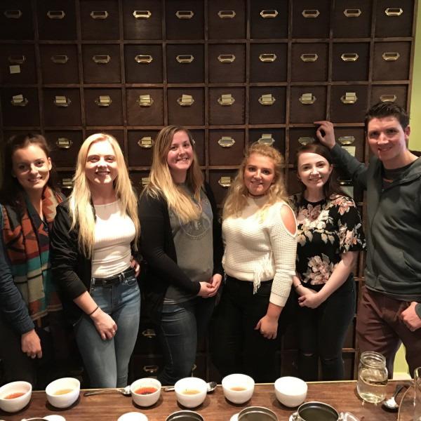 Ground Espresso Bar visit Suki Tea Academy