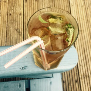 Recipe 13: CocoaMint Iced Tea