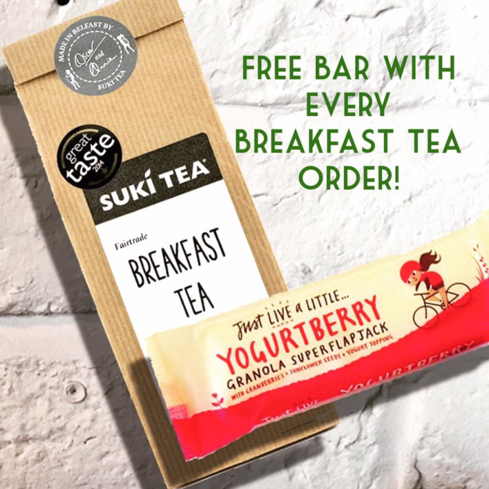 Suki Breakfast Tea Offer