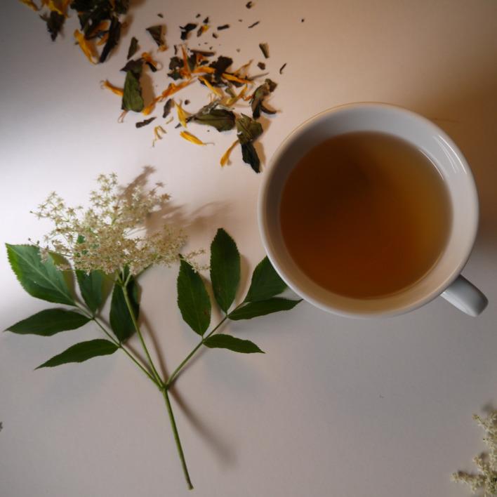 DAY 3: White Tea Elderflower Fizz