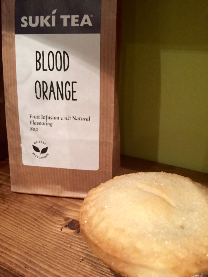 Suki Teacember Advent: Day 4 - Blood Orange Tea