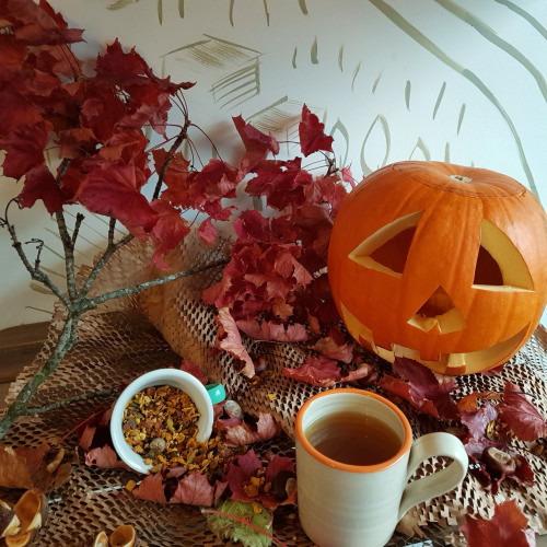 Spiced Pumpkin Tea