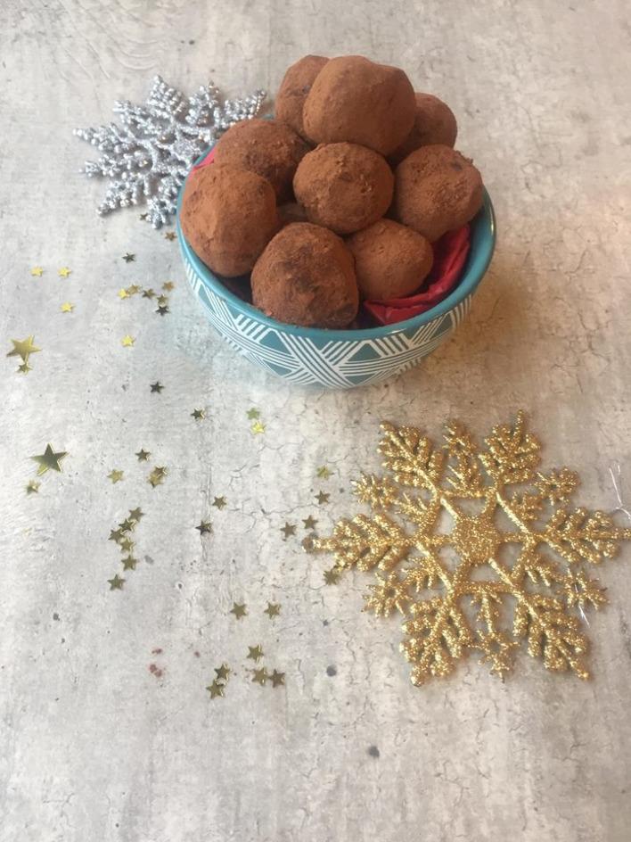 DAY 7: Mint Choc Chai Truffles