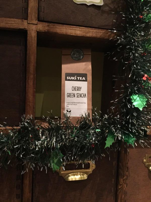 Suki Teacember Advent: Day 1 - Cherry Green Sencha Tea
