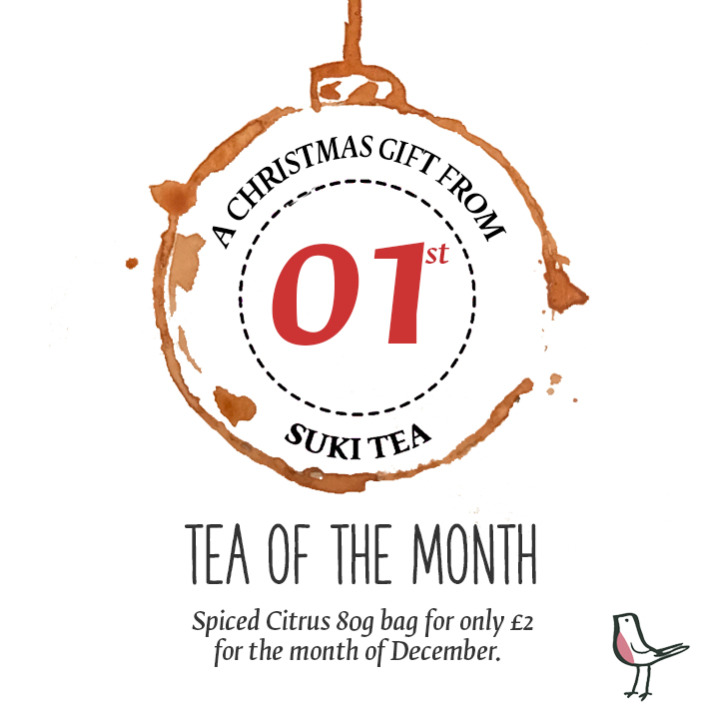 Christmas Tea of the Month