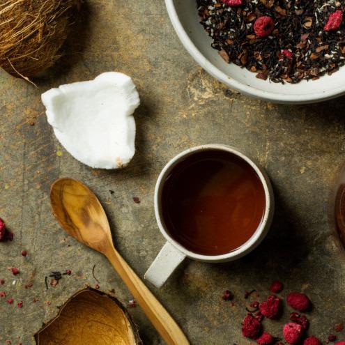Raspberry Ruffle Tea