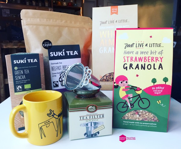 Breakfast Tea Hamper - Northern Ireland Year of Food & Drink