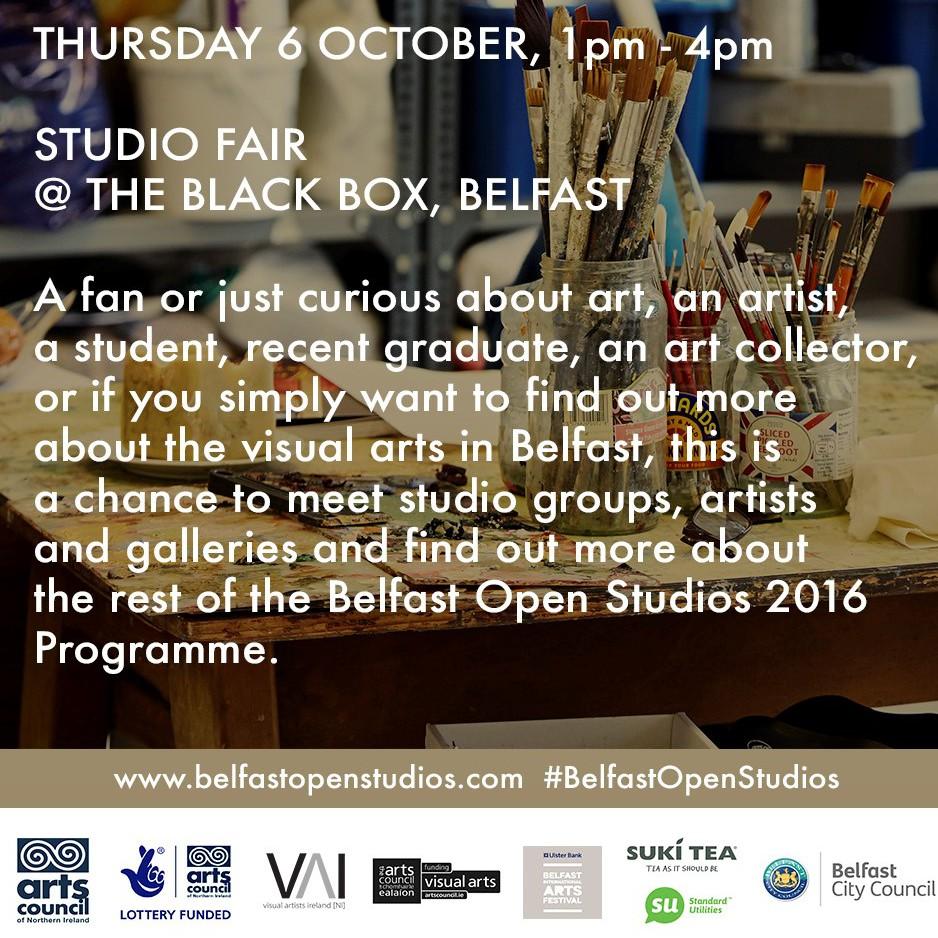 Visual Artists Ireland: Belfast Open Studios