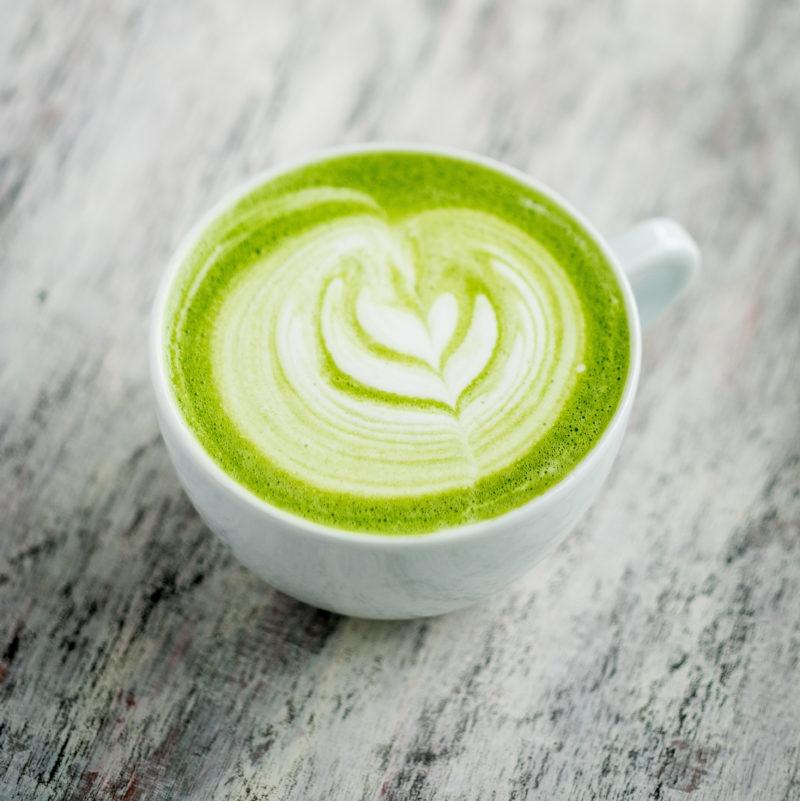 Matcha Coconut Latte