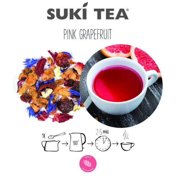 Pink Grapefruit Tea