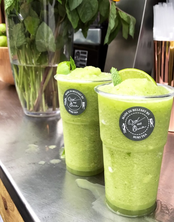 Matcha Lime Slushie at Focal Festival