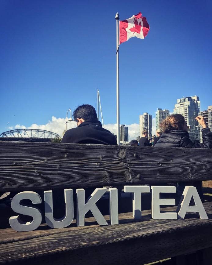 Suki Tea in Vancouver, Canada
