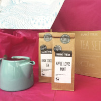 Valentine's tea gift set