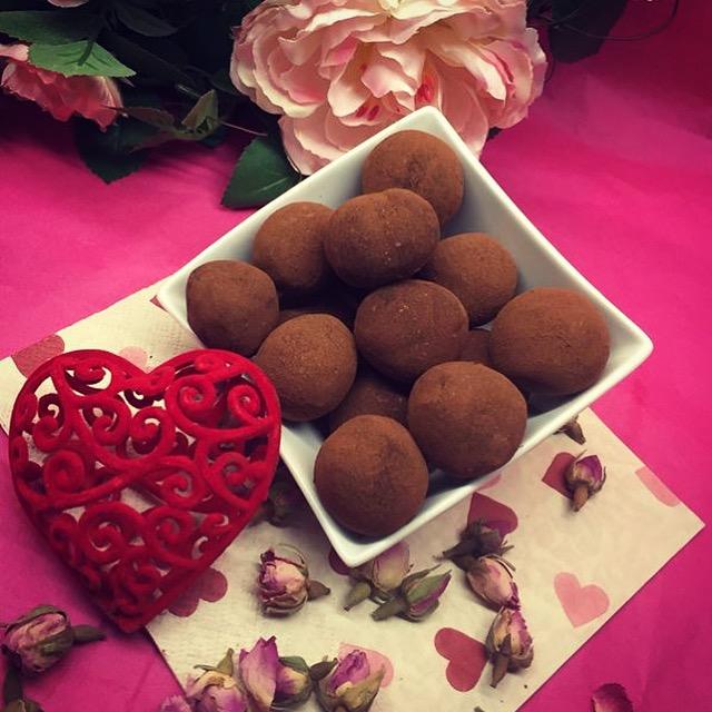 Turkish Delight Truffles
