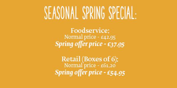 Seasonal Spring Special Pricing
