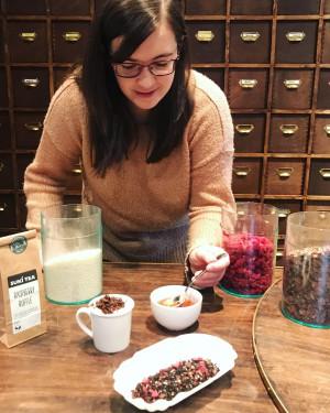 Alex Raspberry Ruffle Tea Launch