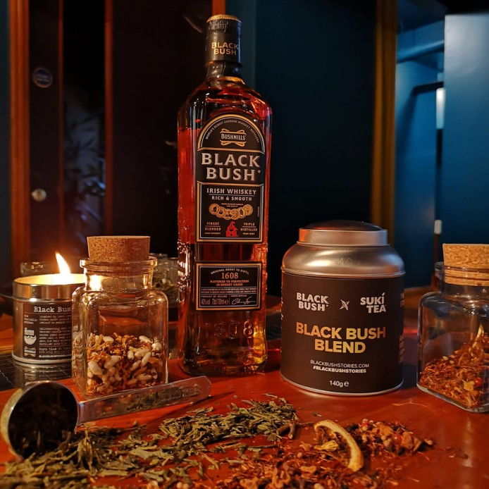 Bushmills Black Bush Inspired Tea Cocktails