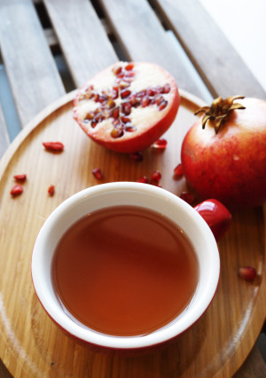 Suki Goji Berry and pomegranate tea