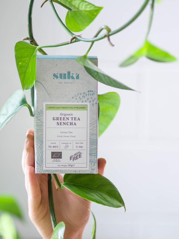 Plastic free Tea packaging