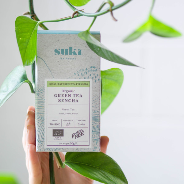 Suki Tea Plastic Free Tea Packaging